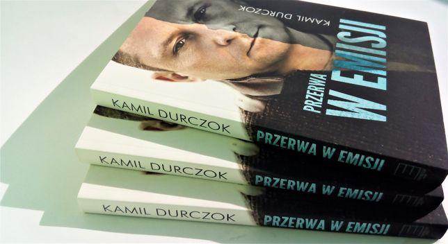 WYPRZEDAŻ! Nowa Książka - Przerwa w emisji! Kamil Durczok!