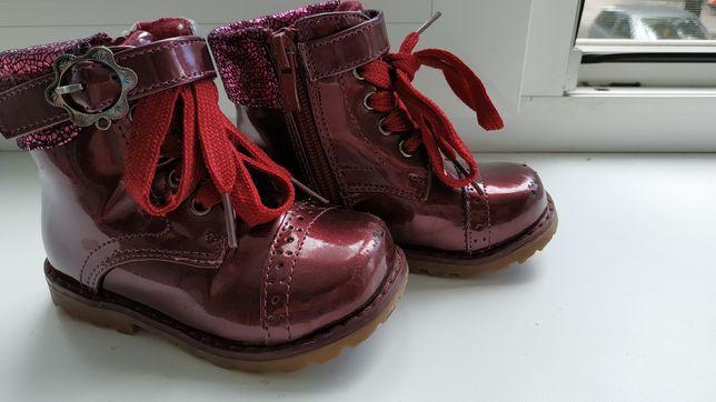 Демисезонные ботинки, стелька 14,5