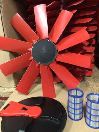 Вентилятор на  ОПВ оприскувач, форсунка, насос, редуктор