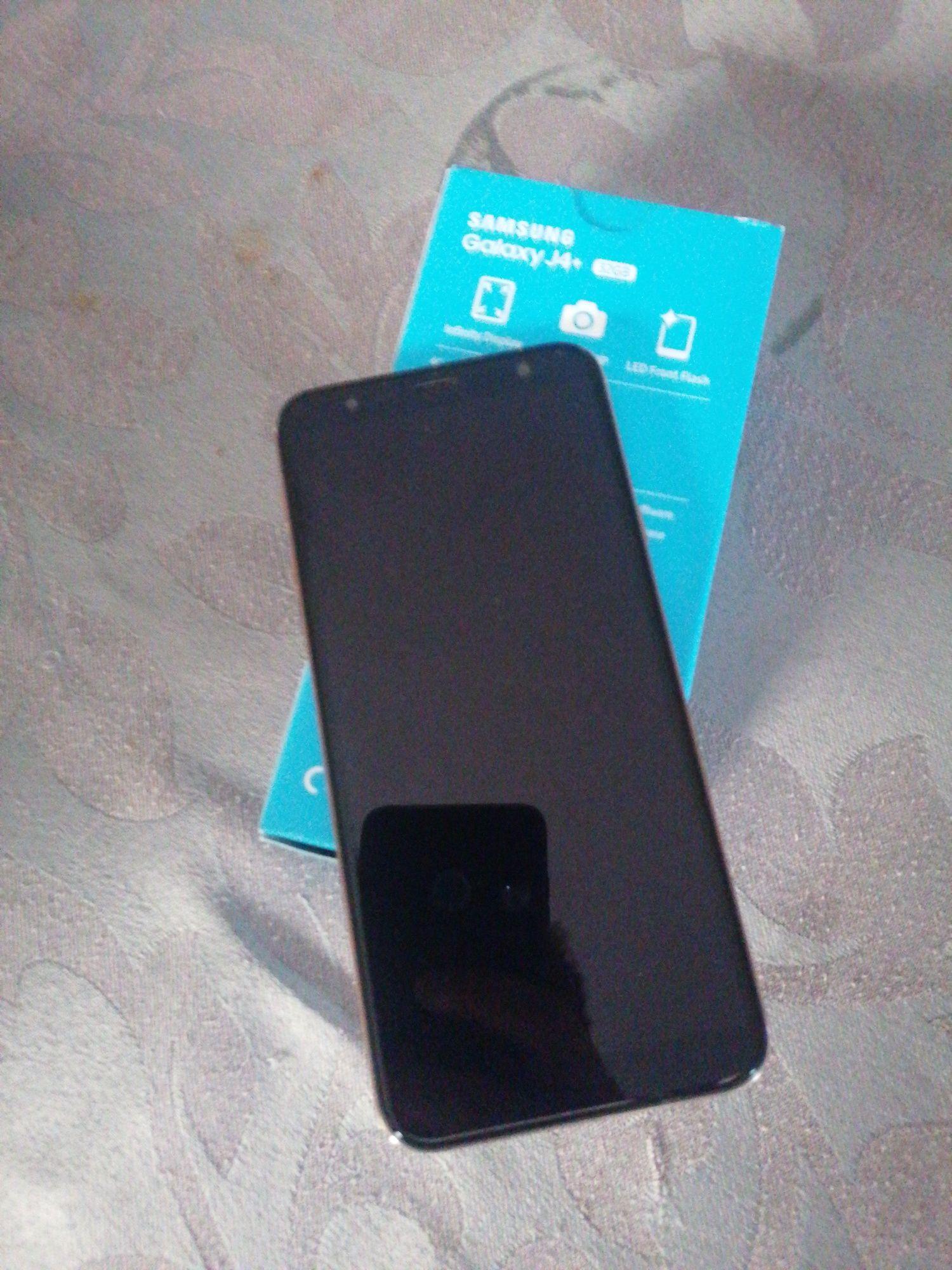 Samsung j4+ com caixa e carregador
