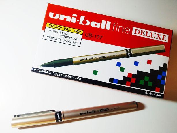 Ручка роллер uni-ball fine DELUXE