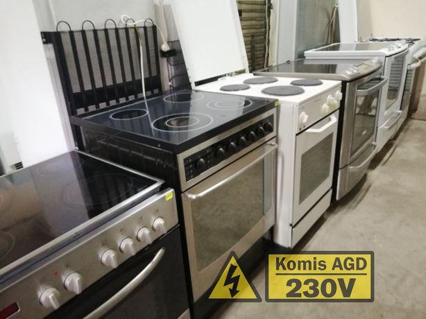 Kuchenka Piekarnik Płyta | 230V Komis AGD Psie Pole | Gwarancja IDowóz