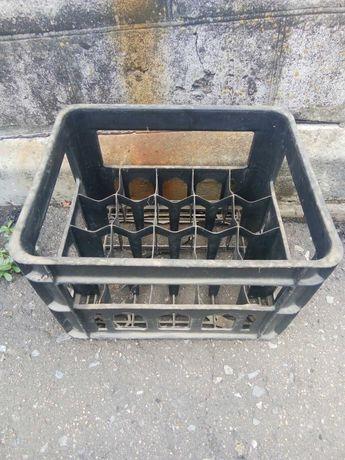 Ящик для бутылок СССР, пластмассовый