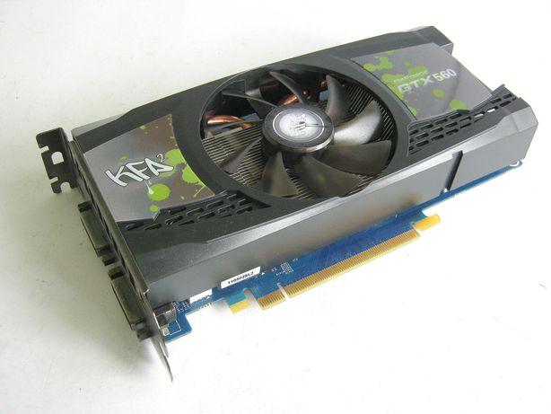 Видеокарта KFA2 NVidia GeForce GTX 560 1Gb GDDR5 256bit