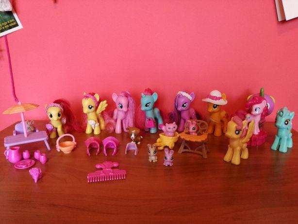 Kucyki pony 9 sztuk
