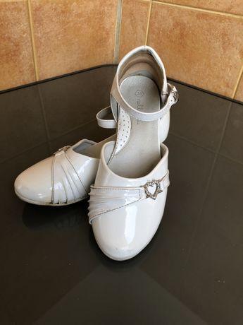 Buty dla dziewczynki rozm. 34 Ślub Komunia Druhny Uroczystość Bal