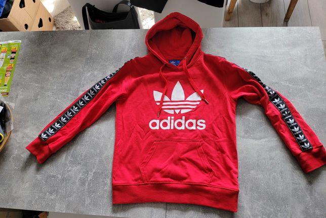 Bluza z kapturem Adidas oryginał z USA roz. S/M jak nowa