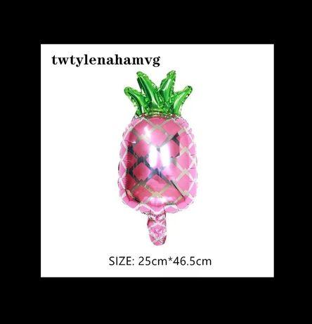 Воздушный шар шампанское виски корона ананас