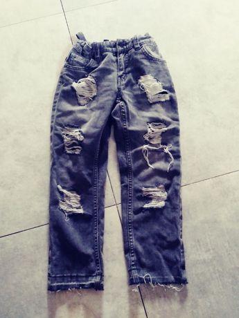 Jeansy chłopięce z TRN