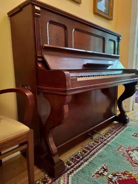 Piano Vertical Classico - Marca L. DE SMET - Bruxelas