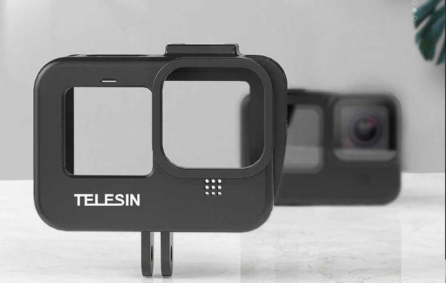 Moldura Proteção com Shoe - GoPro 9 Black- Novo - Portes Gratis