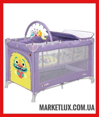 Манеж CARRELLO Molto. Детский манеж с игрушками