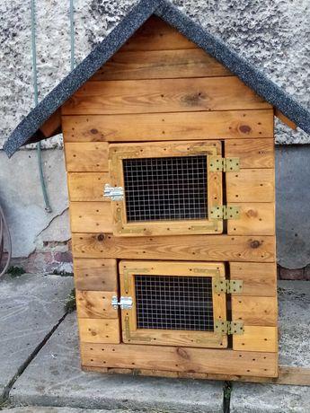 Króliczok,klatka,domek dla królików