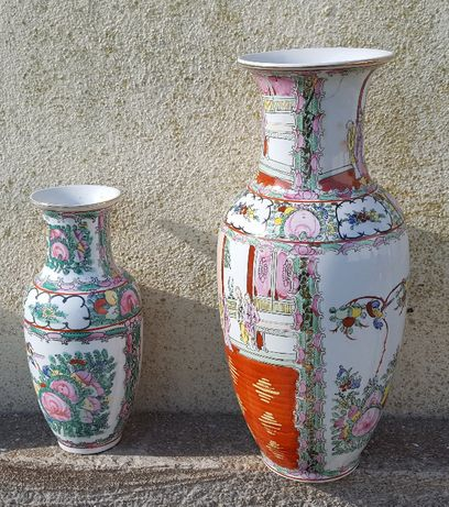 Duas jarras porcelana chinesa