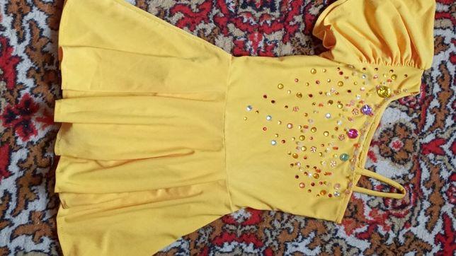 Гимнастическое платье купальник