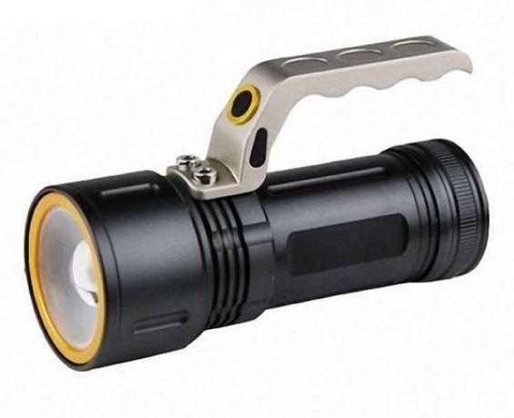 Акция! Ручной фонарь - мощный прожектор T801 99000W с зуммом