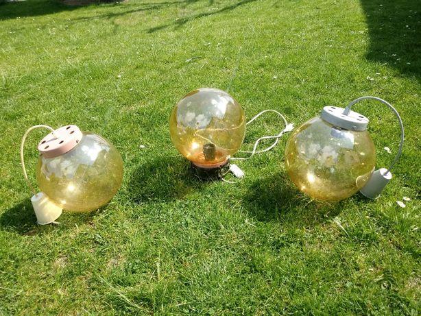 LAMPY w kształcie kuli - Piękny komplet