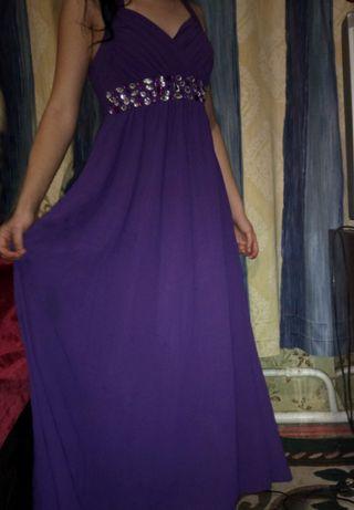 Платье, шифоновое ,выпускное в пол