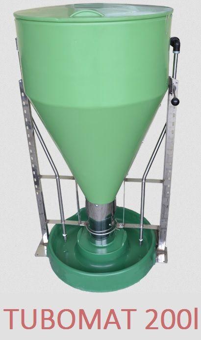 TUBOMAT 200 l dla trzody z nierdzewki i wzmacnianego plastiku-Wysyłka Koleczkowo - image 1