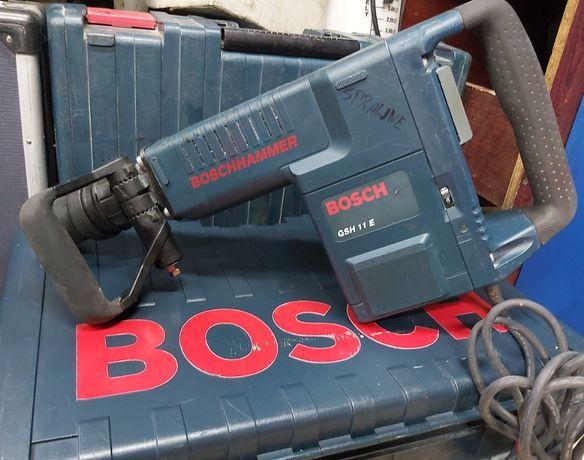 Młot Udarowy BOSCH GSH 11E Kujacy SDS-MAX + walizka