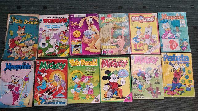 Lote 59 revistas BD Disney