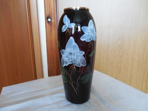 Продам вазочку из цветного стекла. Антиквариат.