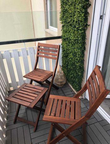 Cadeiras e Mesa Jardim
