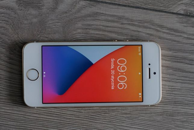 Iphone 5 se gold 16gb