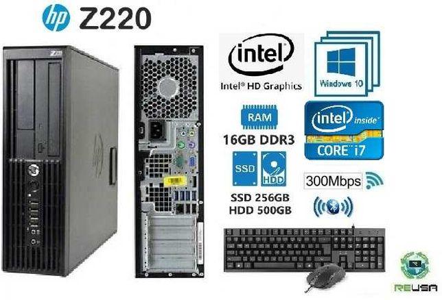 Pc-P/OFFICE Top Gama 3ªGr. i7-3770-3.4Ghz,16Gb,SSD+HDD,WIFI,KIT,BT,W10