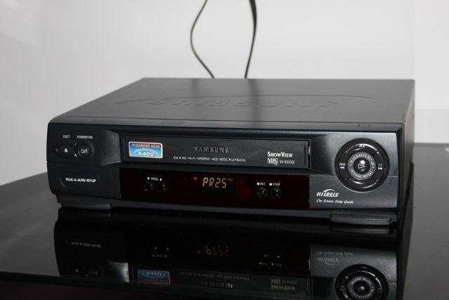 SAMSUNG Odtwarzacz magnetowid kaset video VHS VCR Wysyłka