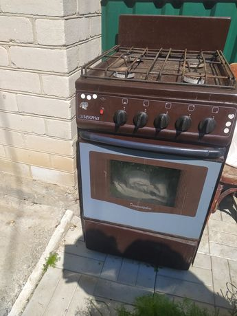 Газова плита, повністю в робочому стані)