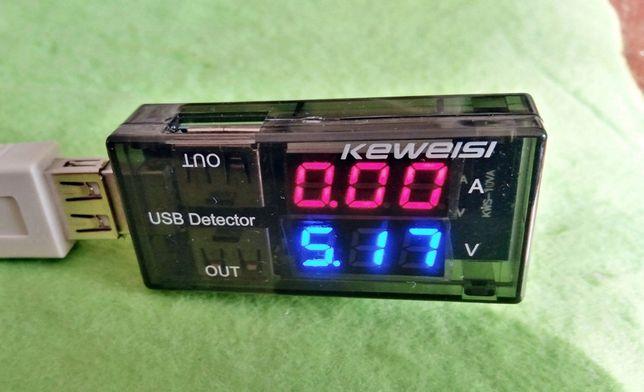USB Charger Doctor - Тестер USB напряжения (прямой).