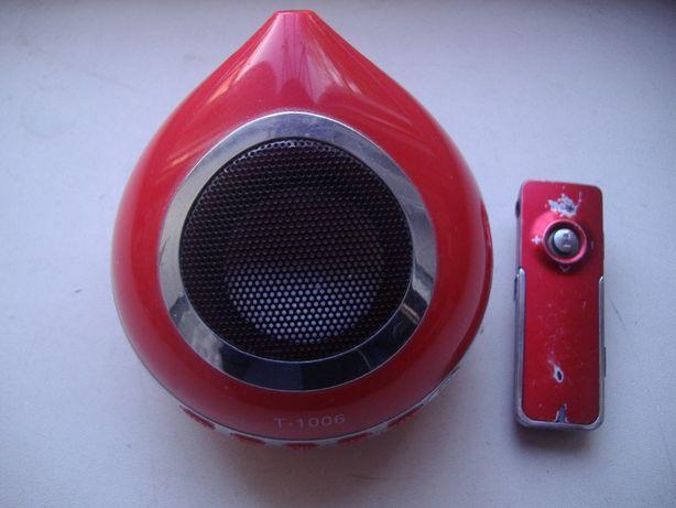 MP3 плеер (колоночка FM USB SD) не включается !!!