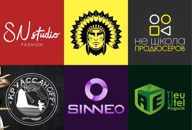 Профессиональная разработка логотипа (фир.стиль/упаковка/визитки/тд.)