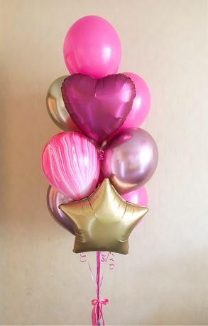Гелиевые шары, доставка шаров, воздушные шарики геліеві кульки, шарики