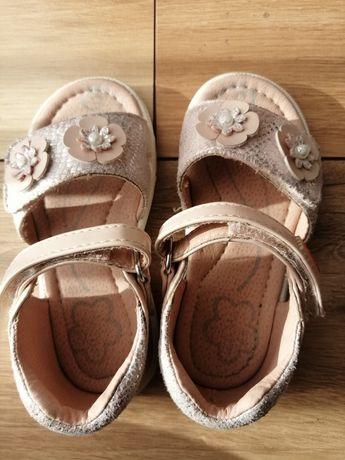Buciki/sandałki dla małej księżniczki - rozm. 23