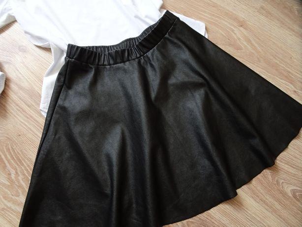 spódniczka spódnica czarna skayka S 152/158 nie zara