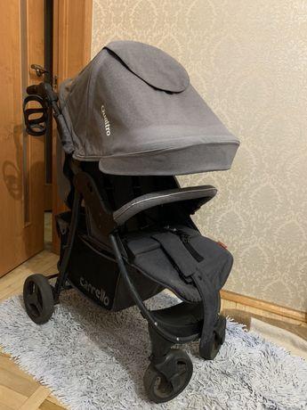 Прогулочная коляска CARRELLO Quattro Len серая