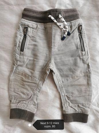 Spodnie chłopięce rozm 80