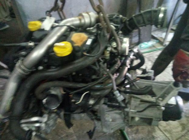 двигун,движок,двігатель рено кенго,сценік,меган,модус,кліо1.5  766,722