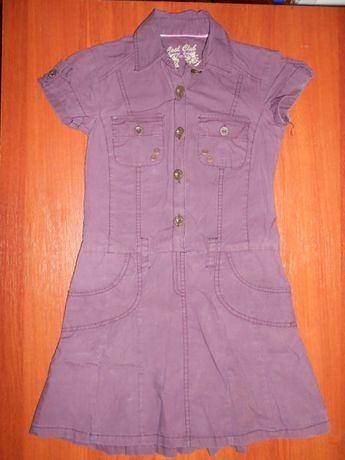 Платье фирменное и стильное для девочки 7-9 лет