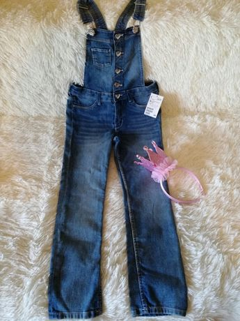 Новий джинсовий H&M комбінезон