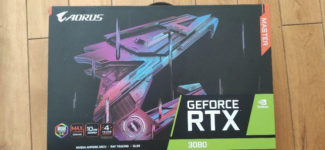 RTX 3080 Aorus Master Nowa