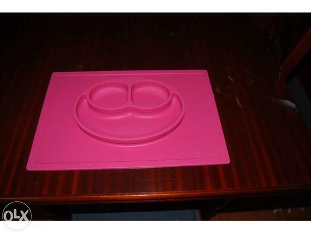 Prato silicone para crianças