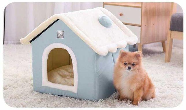 legowisko BUDKA DOMEK dla psa/kota 2w1