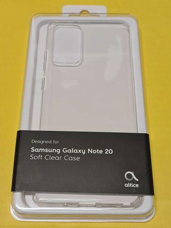 Capa silicone Altice para Samsung Note 20