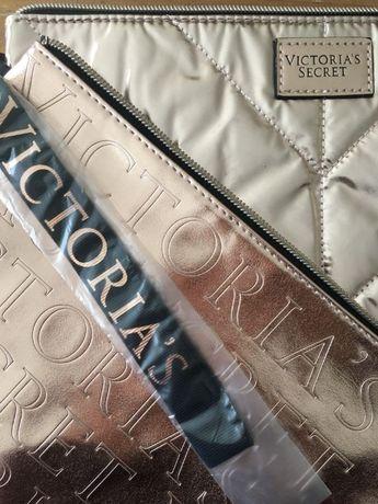 Victoria's Secret Cosmetic Bag & Clutch Set ORYGINAL! Wysylka GRATIS!