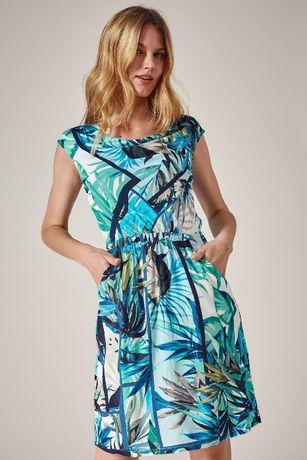 Letnia sukienka Tatuum r. 40/42 oversize zwiewna nowa
