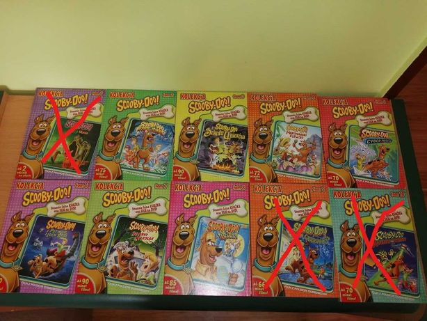 Scooby-Doo! Kolekcja  TOM: 2,3,4,5,6,7,8