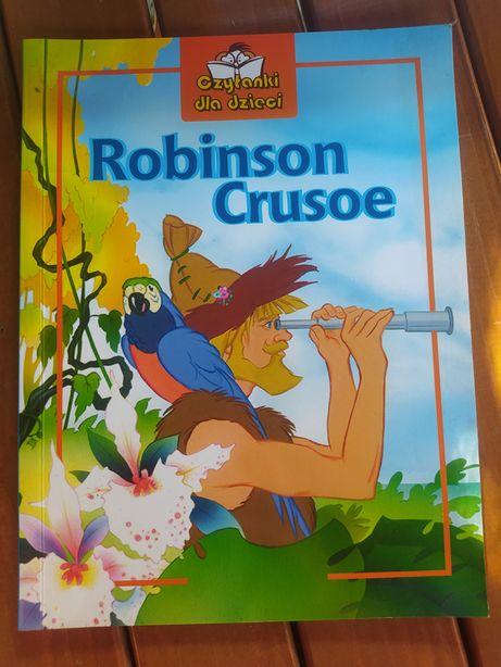 Robinson Crusoe, czytanki dla dzieci